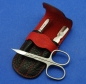 Preview: Dreiturm - Manicure Set KNHS (black/red)