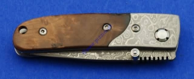 Damascus One Hand Knife