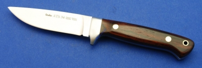 Linder - ATS34 Custom Hunter Cocobolo