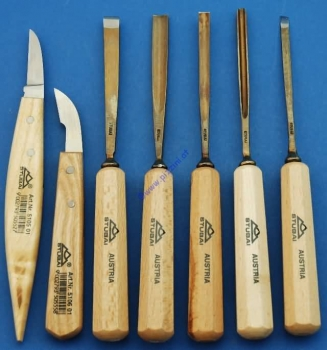 Stubai Woodcarving Set 7 pcs.
