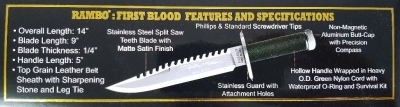 Rambo First Blood signature edition
