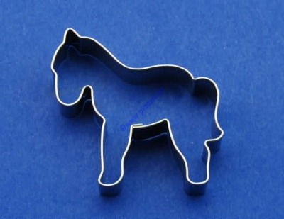 Cookie Cutter Horse (5,5 x 6 cm)