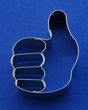 Emboss-Cookie Cutter - Thumbs Up